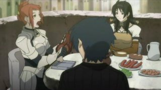 Ever notice how characters in fantasy anime seem to spend a whole lot of time eating?
